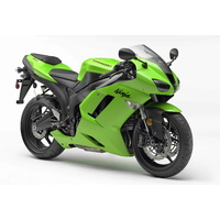 2007 - 2008 Kawasaki ZX6R Fibreglass Race Fairing Kit